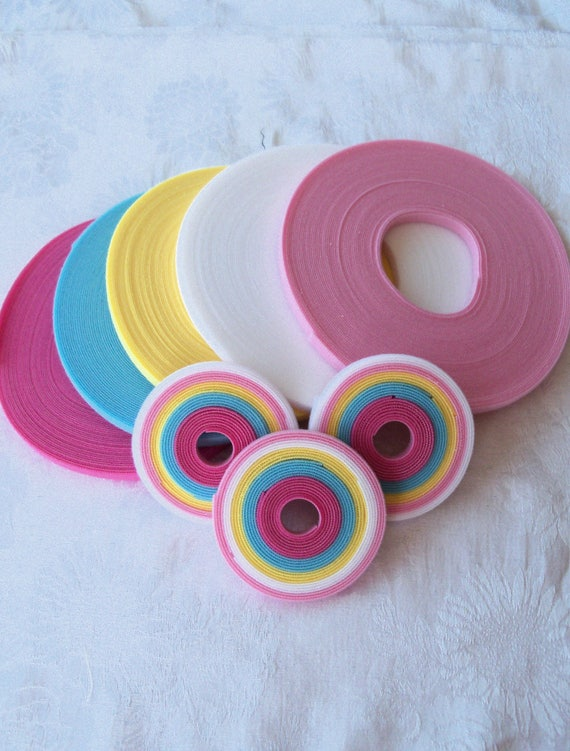 Doll Clothes VELCRO® Brand Hook and Loop / 5 Yard Spring Pack of Genuine Ultra Thin Doll Clothes VELCRO® Brand  Low Profile Hook & Loop