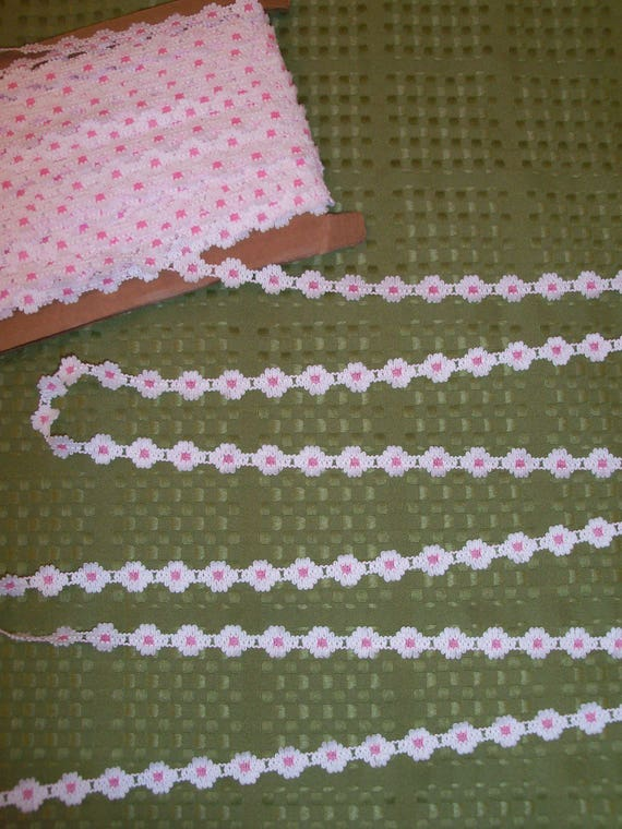 "5 Yards 1/2"" wide Premium  Crochet  Trim for Doll Clothes / 18 Inch Doll Clothes Trims"