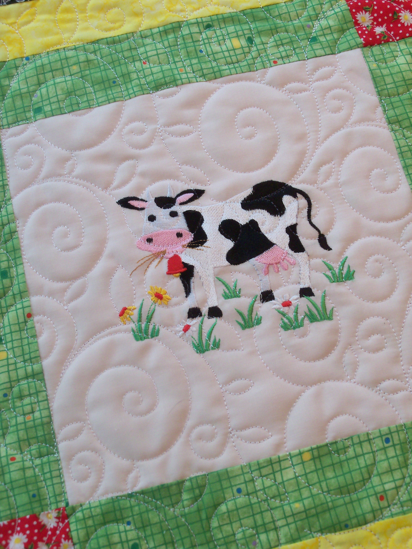 Farmcookies Embroidered Keepsake Down On The Farm