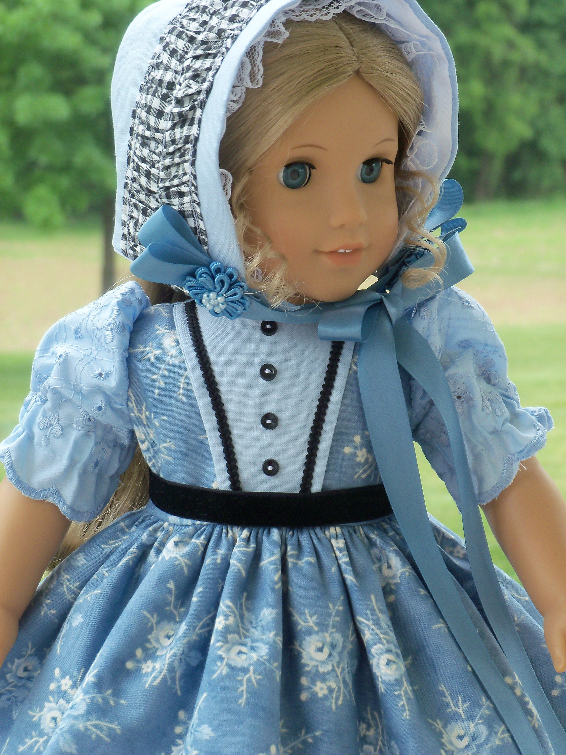 3d3390dd0 Like American Girl Doll Clothes   Historical Southern Belle Gown ...