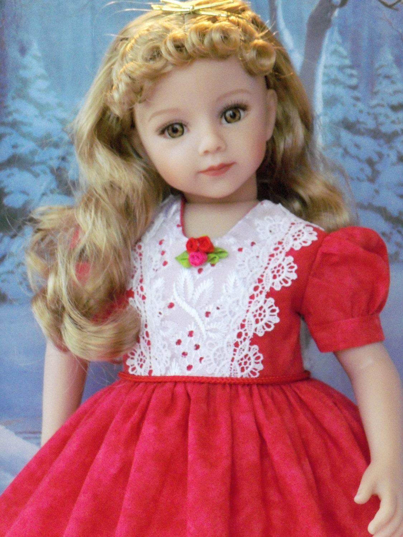"Digital Pattern Dress for 20/"" Dianna Effner Maru and Friends Little Darling Sis"