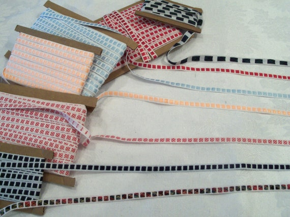 4 Yards Insertion Crochet Trims for Doll Clothes / Your Choice of Colors / Farmcookies Doll Clothes Lace & Trims