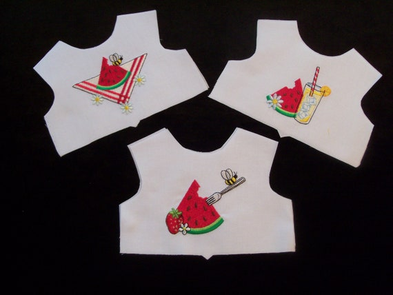 18 Inch size / Farmcookies Embroidered  Bodice Front  / Lining Included / Clothes for American Girl Doll