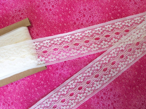 "Doll Clothes Lace / 4 Yards Beautiful Insertion / Beading Lace / Sewing for 18"" American Girl Doll Clothes"