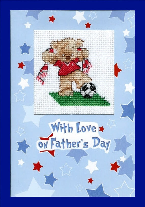 S Wonderful Dad Fathers Day Cards Cross Stitch Chart