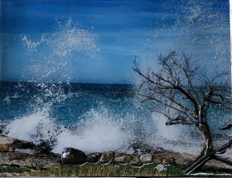 Crashing Waves Original Artwork