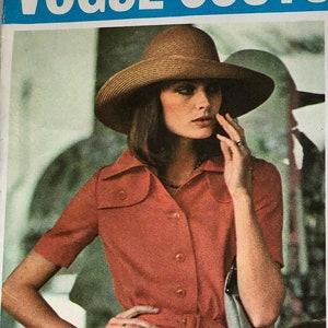 Vintage  40s Film Noir Style Three Piece Suit Vogue Couturier Design Sewing Pattern 357 B36