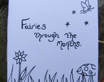Fairies through the Months. An original small book.