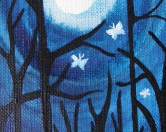 Moon dreams and Moths.