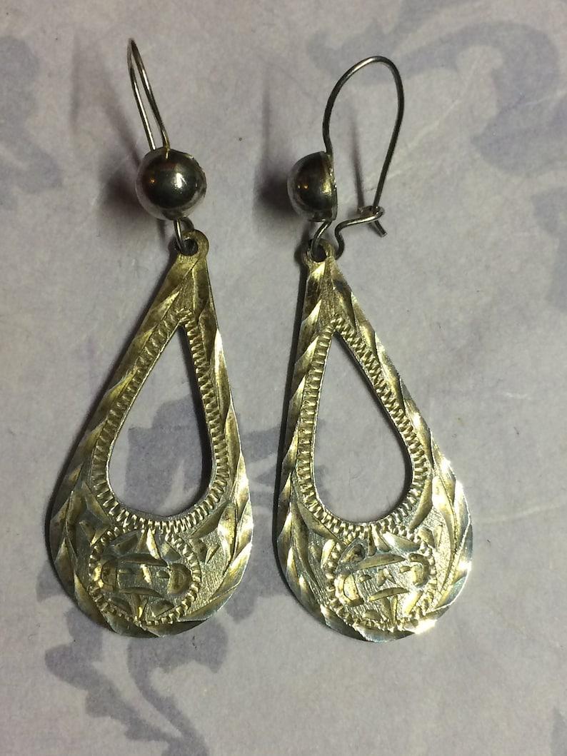 Lyns Jewelry Leopard Jasper Drop Earrings Silver or Gold