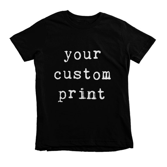 be9d5735 Custom Kids Shirts Personalized Kids Tshirt Custom Toddler   Etsy