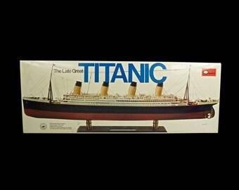 titanic model ship etsy