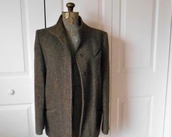Vintage fine wool tweed Jacket