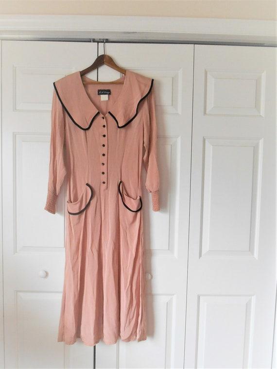 Vintage 80's does 40's Dress