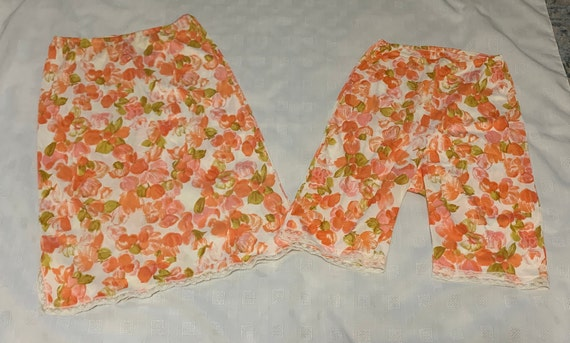 Vintage Kayser Half Slip Set Bloomers and Half Sli