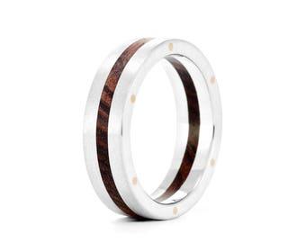 Rivet - Wood Ring UK - Handmade Wedding Ring