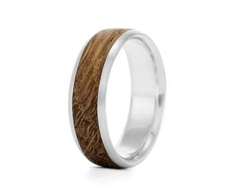 Native Oval, 7mm - wood rings UK
