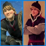 Kristoff from Frozen Wig