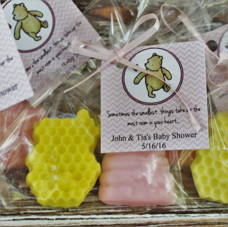 c522049450a8 Beehive and Honeycomb Winnie the Pooh Soap Party Favors
