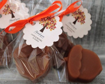 ACORN Soap Party Favors:  Bridal Shower, Wedding Favor, Baby Shower Favors, Fall Favors, Birthday Favors, Fall Wedding, Halloween Favors
