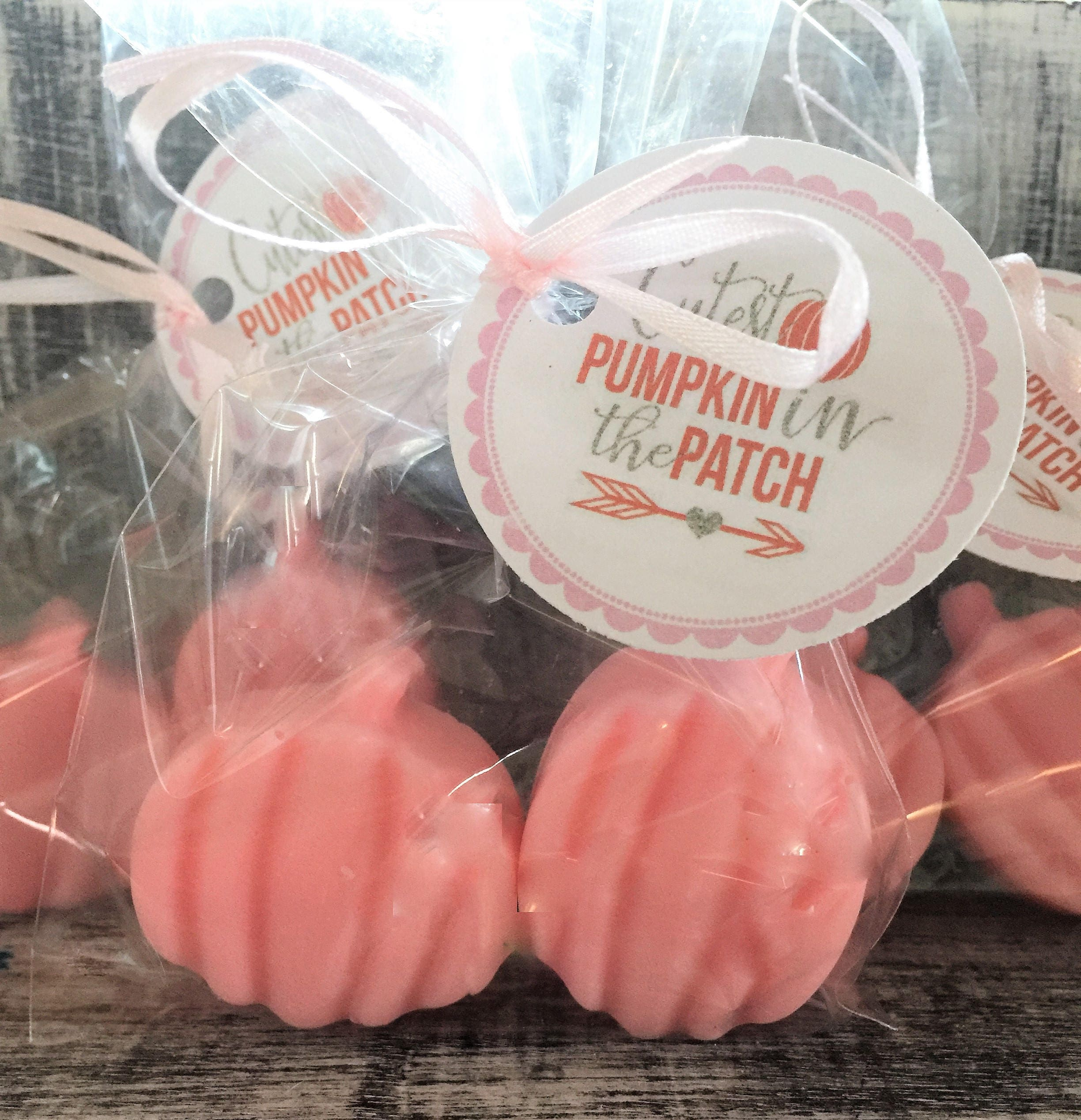 PUMPKIN Soap Party Favors: Halloween Favors Wedding Favor | Etsy