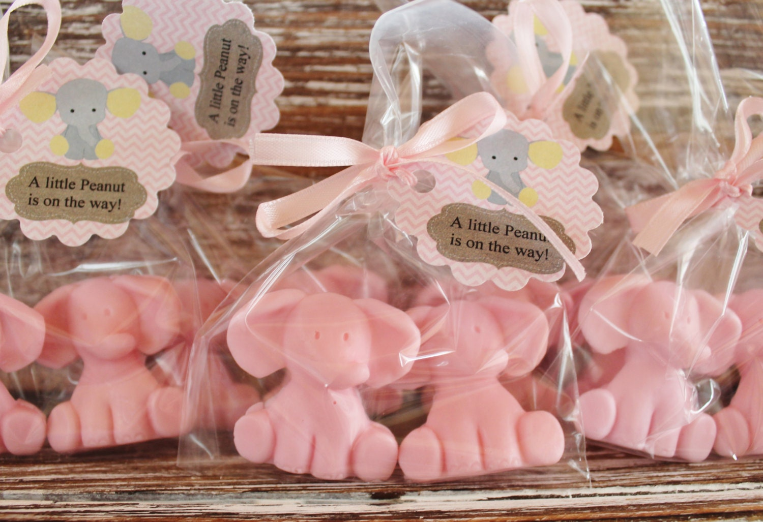 Baby Elephant Party Favor Soaps: Elephant Soap Baby Shower | Etsy