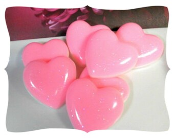 Hearts Soaps Set of 7