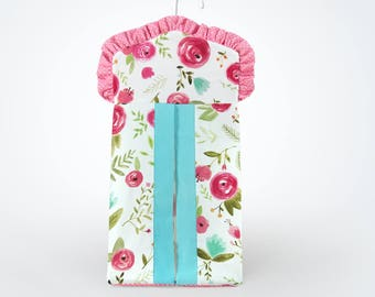 Floral Diaper Stacker