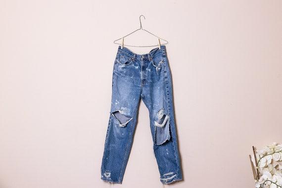 80s Grunge  Boyfriend Jeans