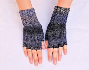 Fingerless Gloves: Best Sellers Multicolor Women's Fingerless Gloves, Cadet Colors - Ready To Ship