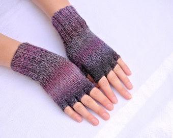 Fingerless Gloves: Best Sellers Multicolor Women's Fingerless Gloves, Cameo Colors - Ready To Ship