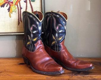 c9380a4aa74 Men's Cowboy & Western Boots - Vintage   Etsy SG