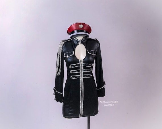 Captain Circus Trainer Officer Military Mini Dress