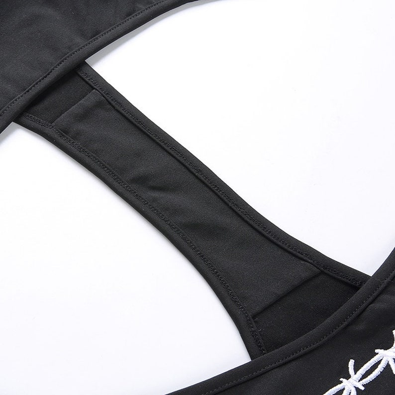 Barbed Wire Side Tie Thong