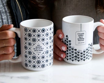 LITERARY COFFEE MUGS
