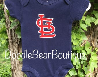 check out 3d949 7a7aa Cardinals baby   Etsy