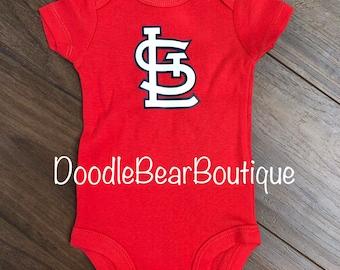 5e9f38901ff7 St. Louis Cardinals Baby bodysuit