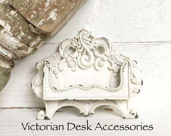 Shabby chic business card holder vintage business card business card holder metal card holder business card holder corporate gifts boss gift secretary day gift bridesmaid gifts new job colourmoves