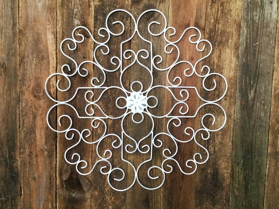 Metal Wall Art Metal Wall Decor Metal Scroll Wall Art Sculpture Decor Metal Wall Decor Art Indoor Outdoor Wall Decor New Home Gift
