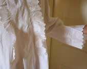 French Ruffled Nightgown