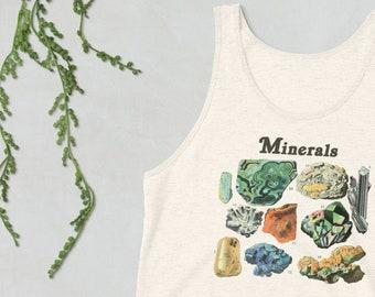 Minerals - Geology Study Unisex Tank Top