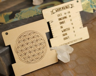 Flower of Life Wraps Per Inch Tool