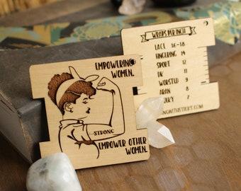 Empowering Women Wraps Per Inch Tool