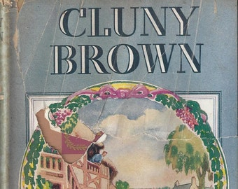 Vintage Cluny Brown by Margery Sharp Children's Book, 1944