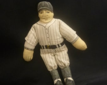 41ee7500c2b Vintage Babe Ruth Collectible Hallmark Cloth Doll