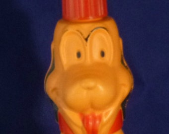 Vintage Pluto Walt Disney Productions Colgate-Palmolive Co. Soaky, 1960s (empty)