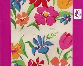 Floral Meyercord Vintage Decals, C1950s