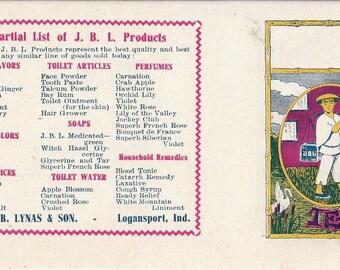 Dr. J.B. Lynas & Son Vintage Tea Label, 1920s