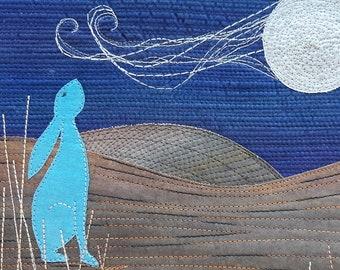 Mystic hares pdf applique pattern etsy