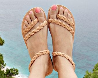 Greek Sandals, Leather Sandals, Strappy Sandals, Summer Sandals, Wedding sandals, Women Sandals